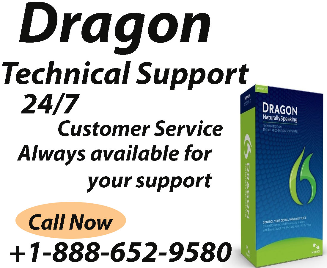 Dragon Speech Recognition Support
